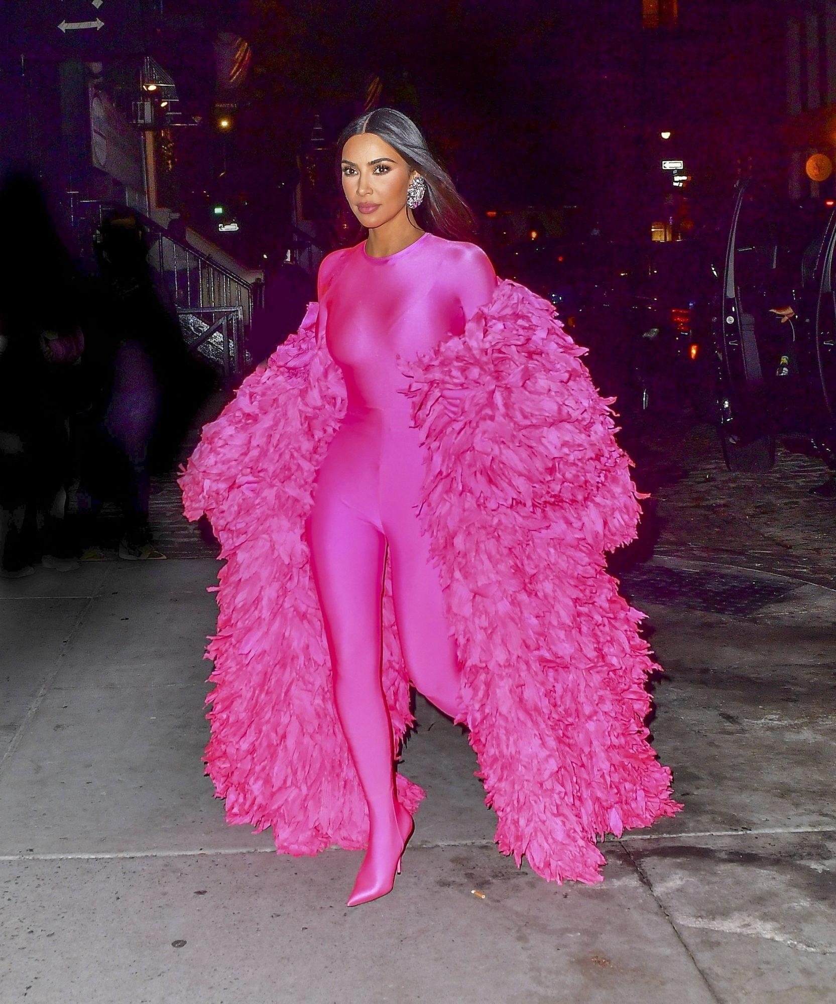 Kim Kardashian, look del dia