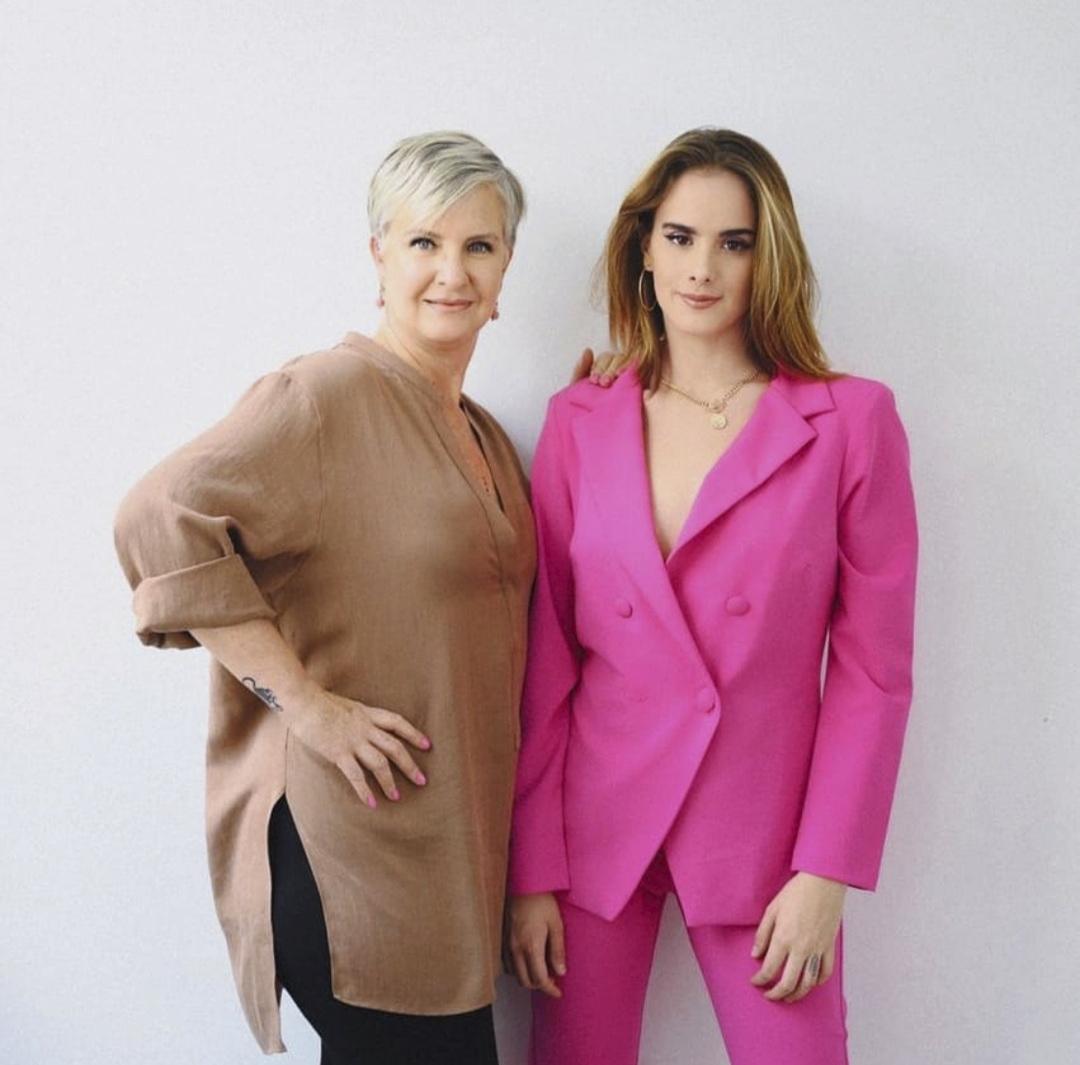 Gala Montes y mama