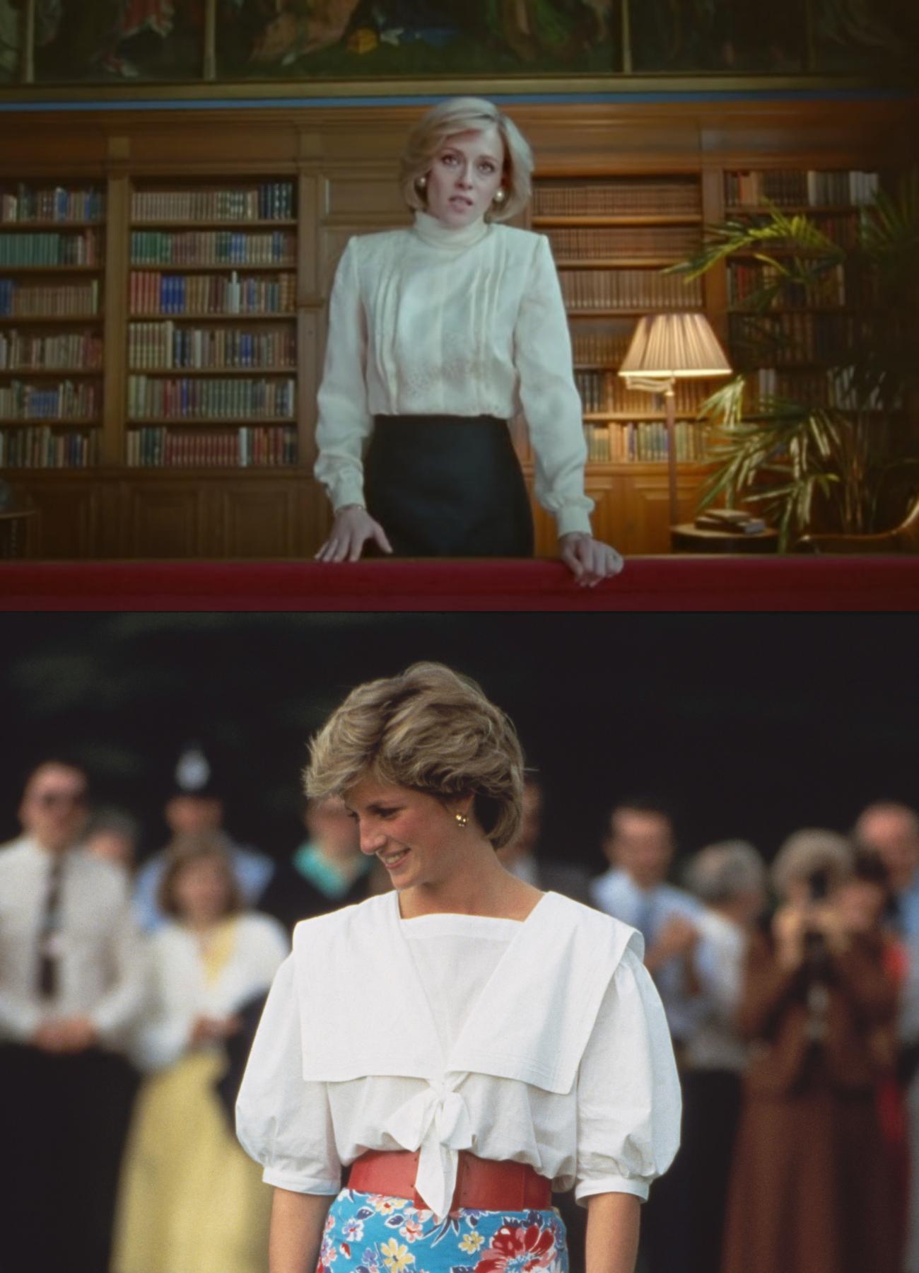 Los looks de diana que inspiran el vestuario de spencer con kristen stewart