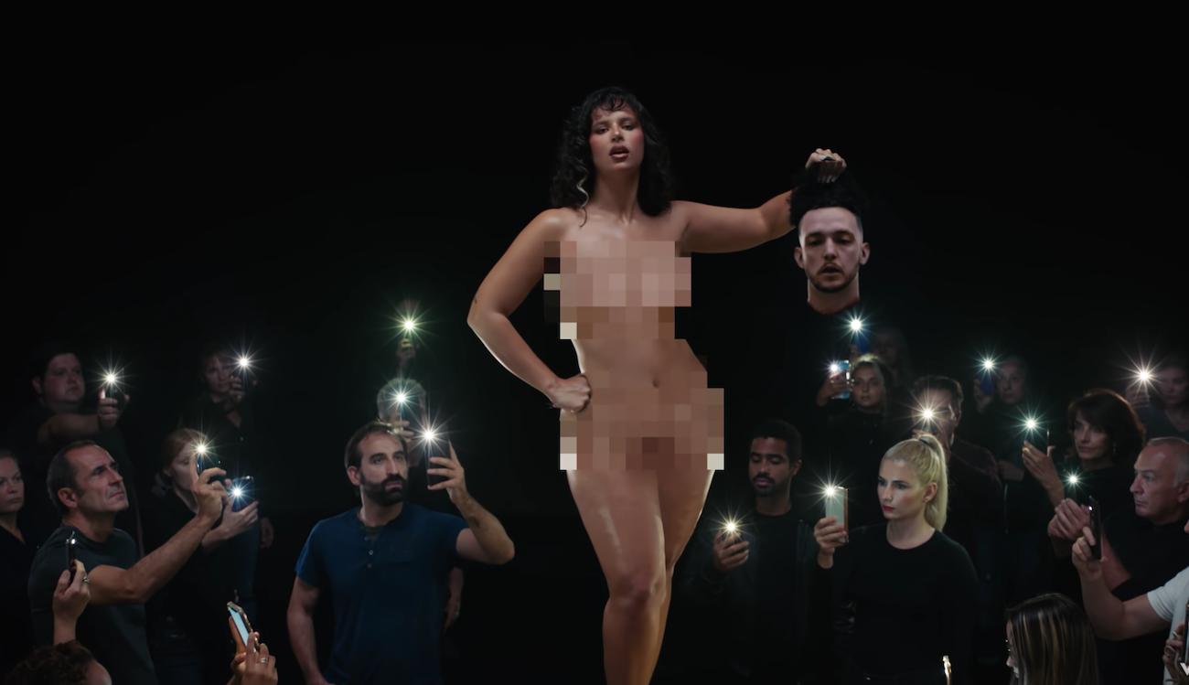 """Escena del videoclip """"Ateo"""""""