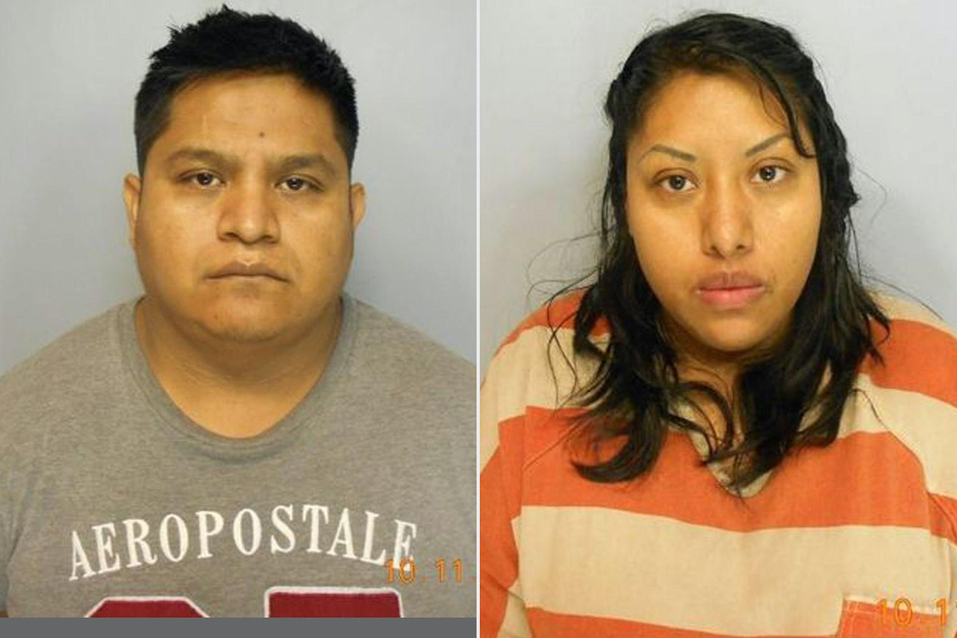 Juan y Nancy Martinez mugshots