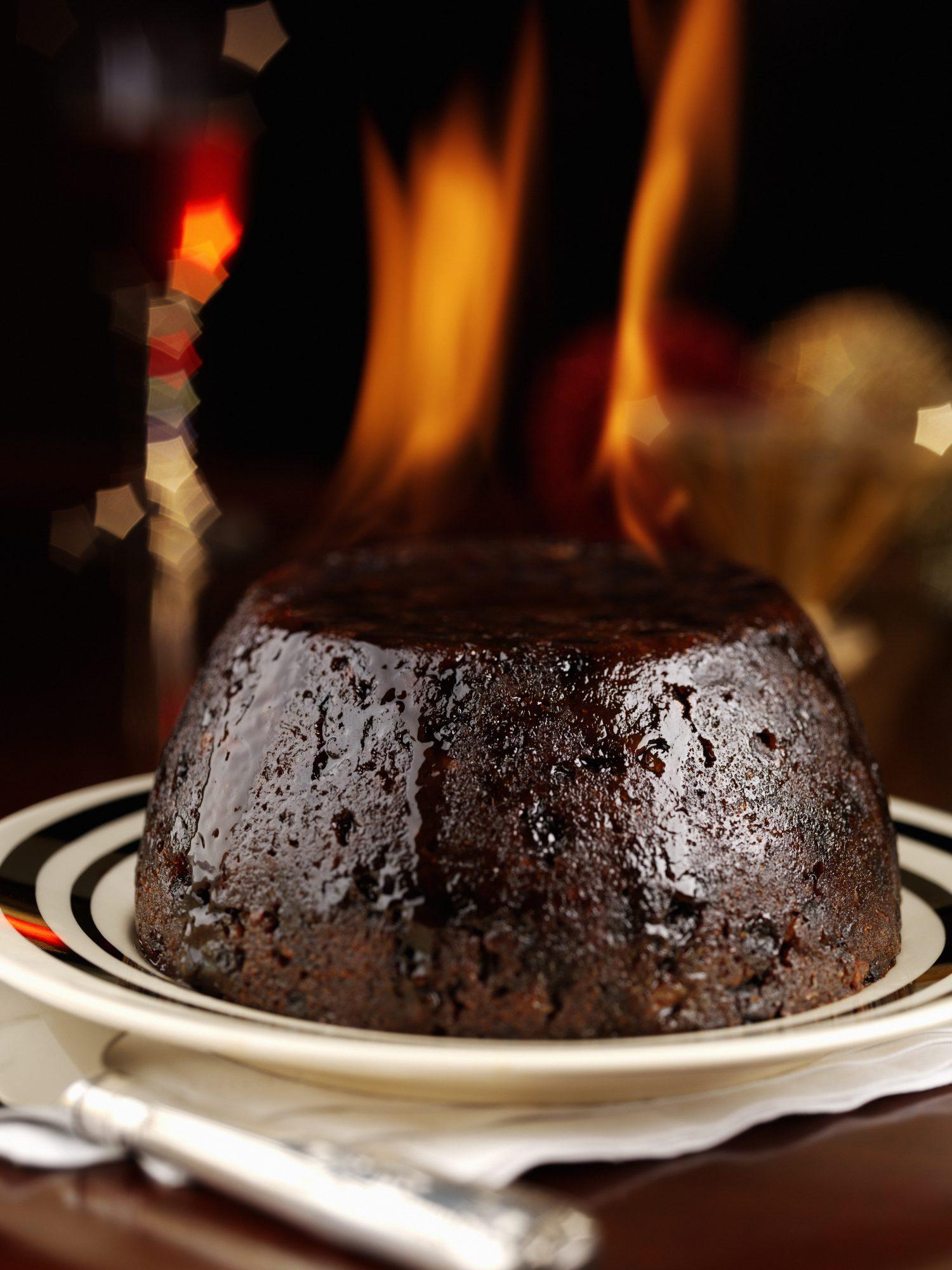 Flambe Chocolate Cake