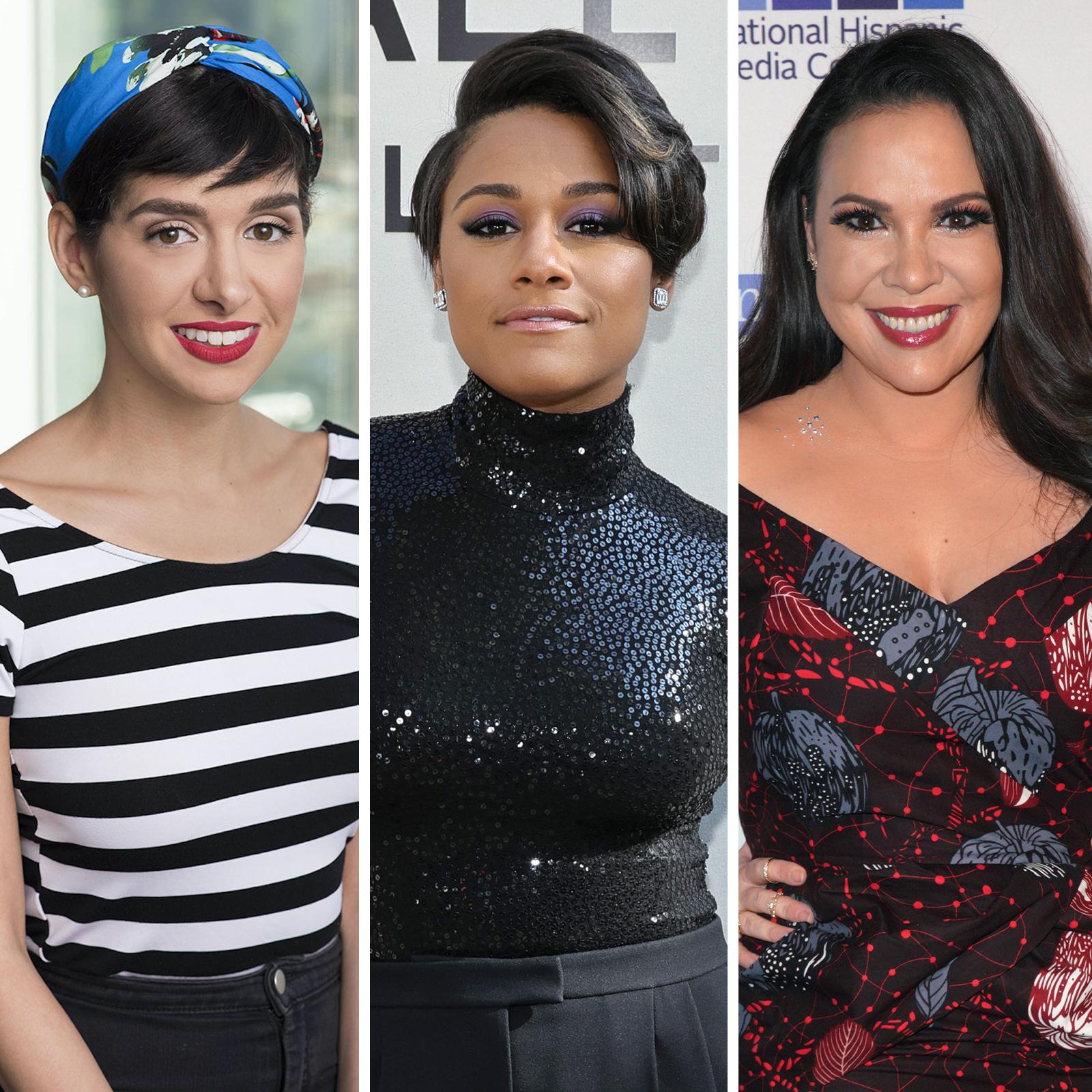 Niki López, Ariana DeBose, Gloria Calderón Kellett