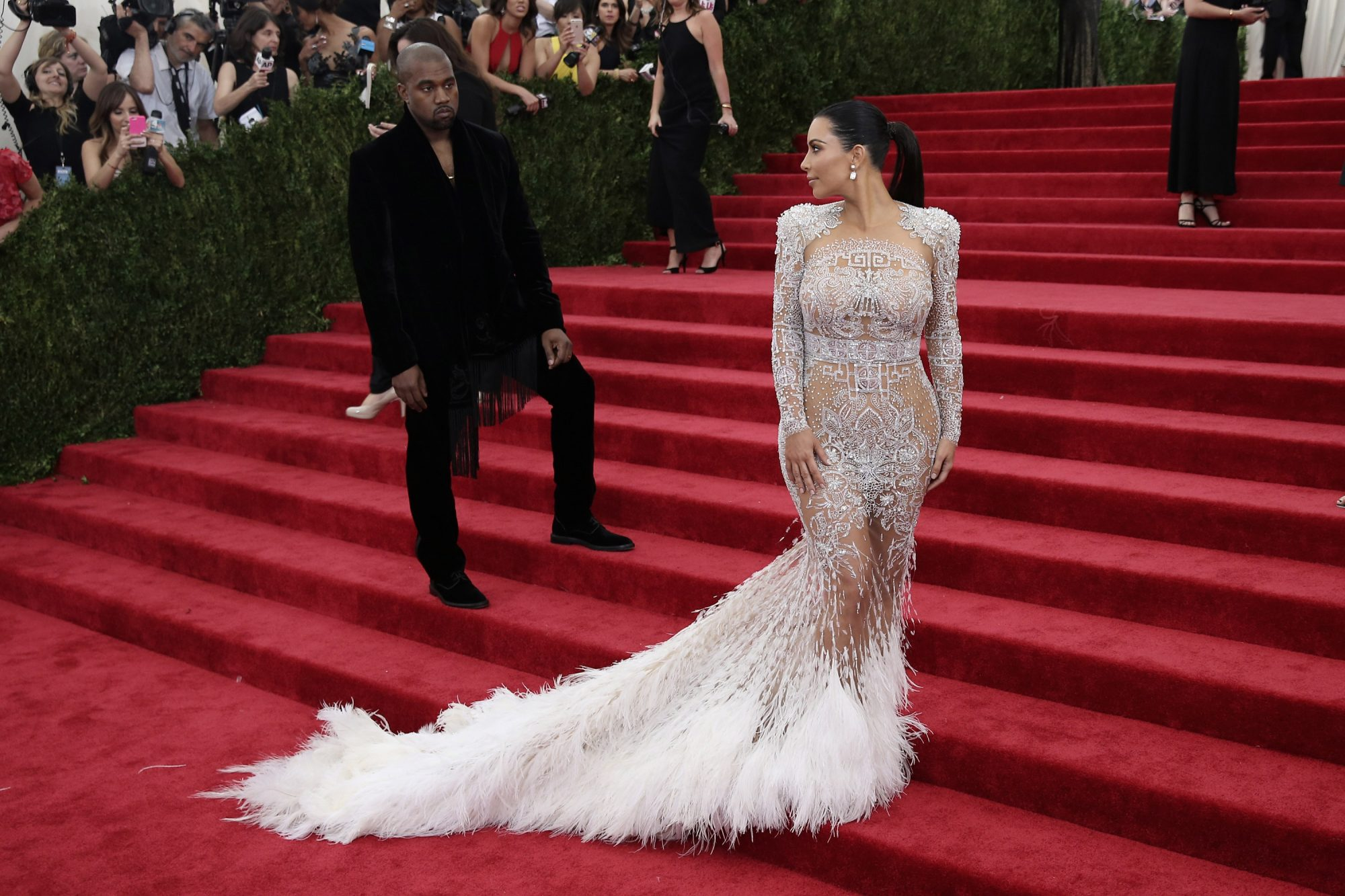 Kim Kardashian alfombra roja
