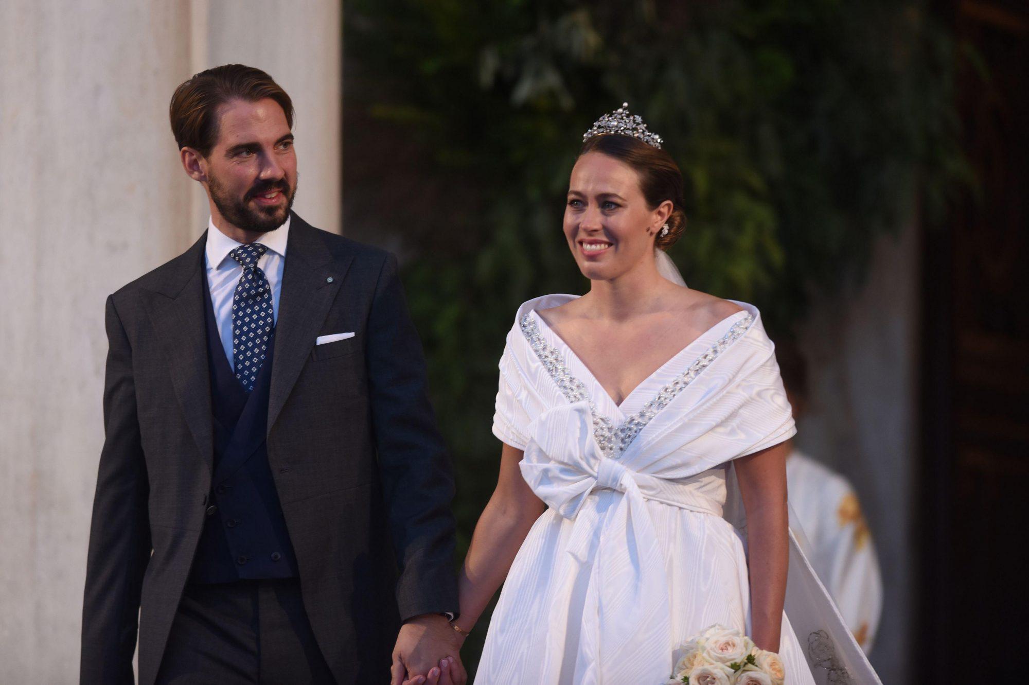 Boda príncipe Philippos y Nina Flohr