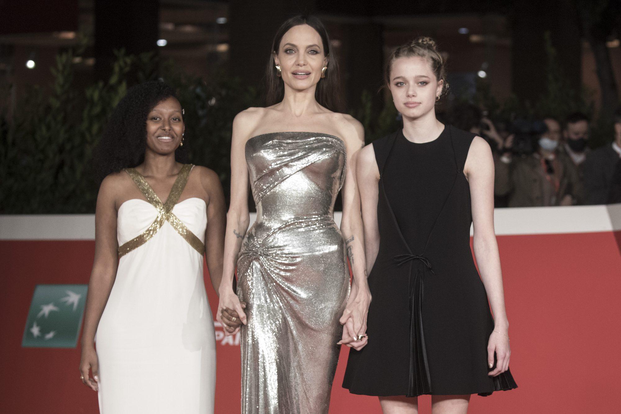 Angelina Jolie Zahara Shiloh estilo
