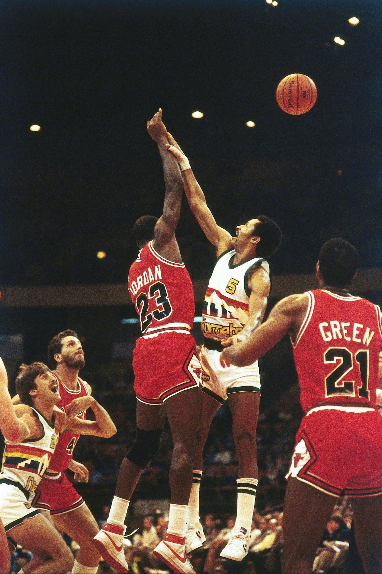 Michael Jordan's 5th NBA Game (November 1, 1984)