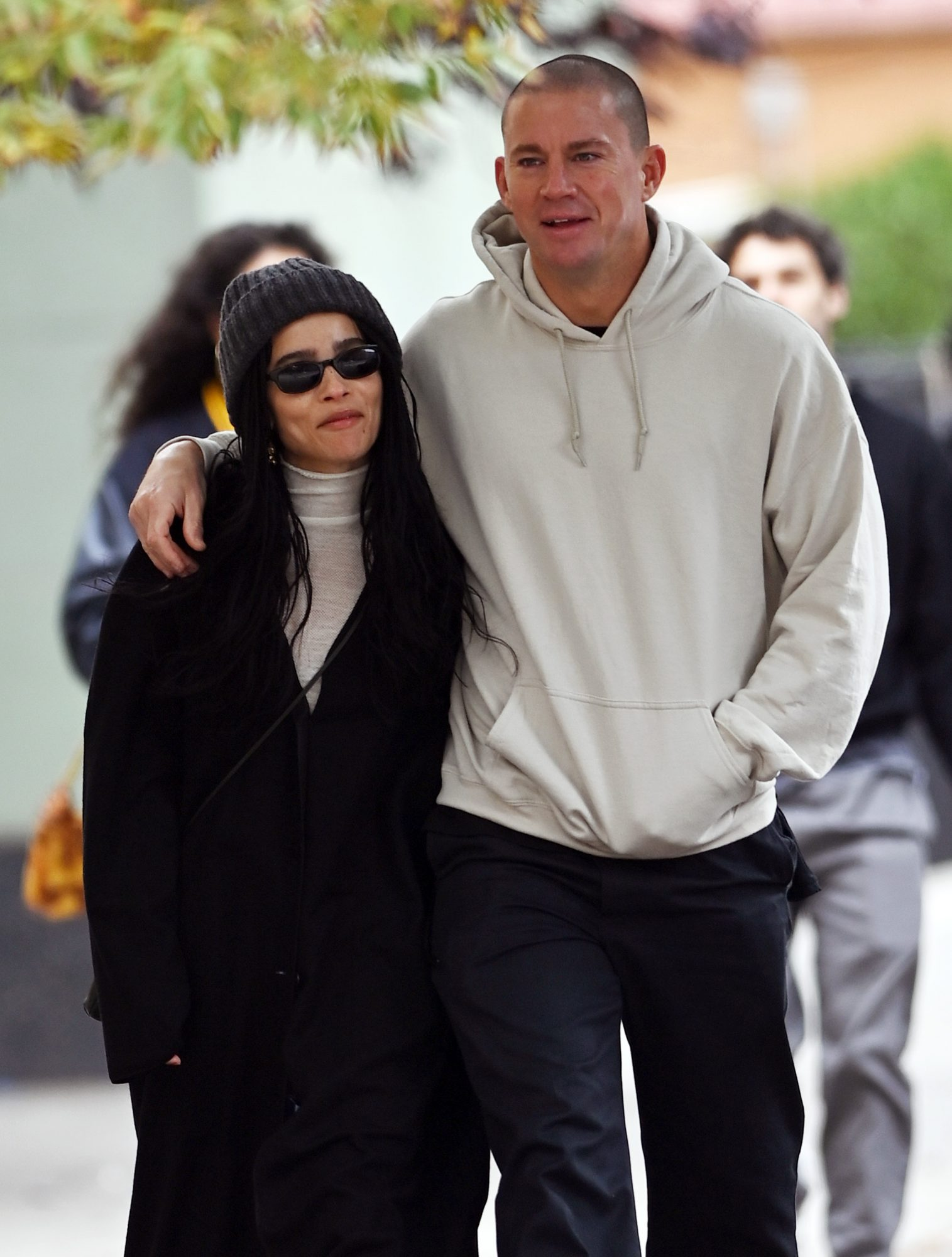 Zoe Kravitz And Channing Tatum Confirm Romance With Some Sweet PDA On Lunch Date In NYC