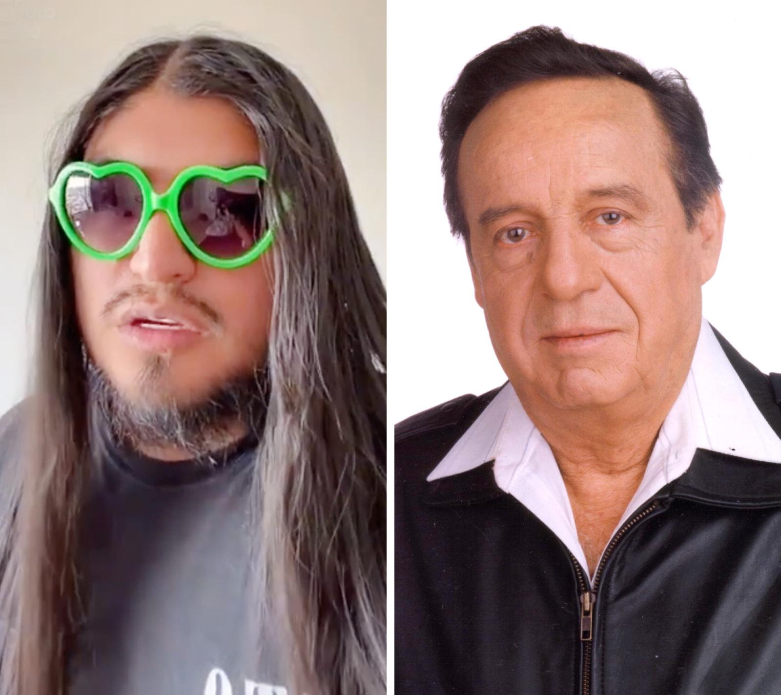 Carlos Balladares y Roberto Gómez Bolaños