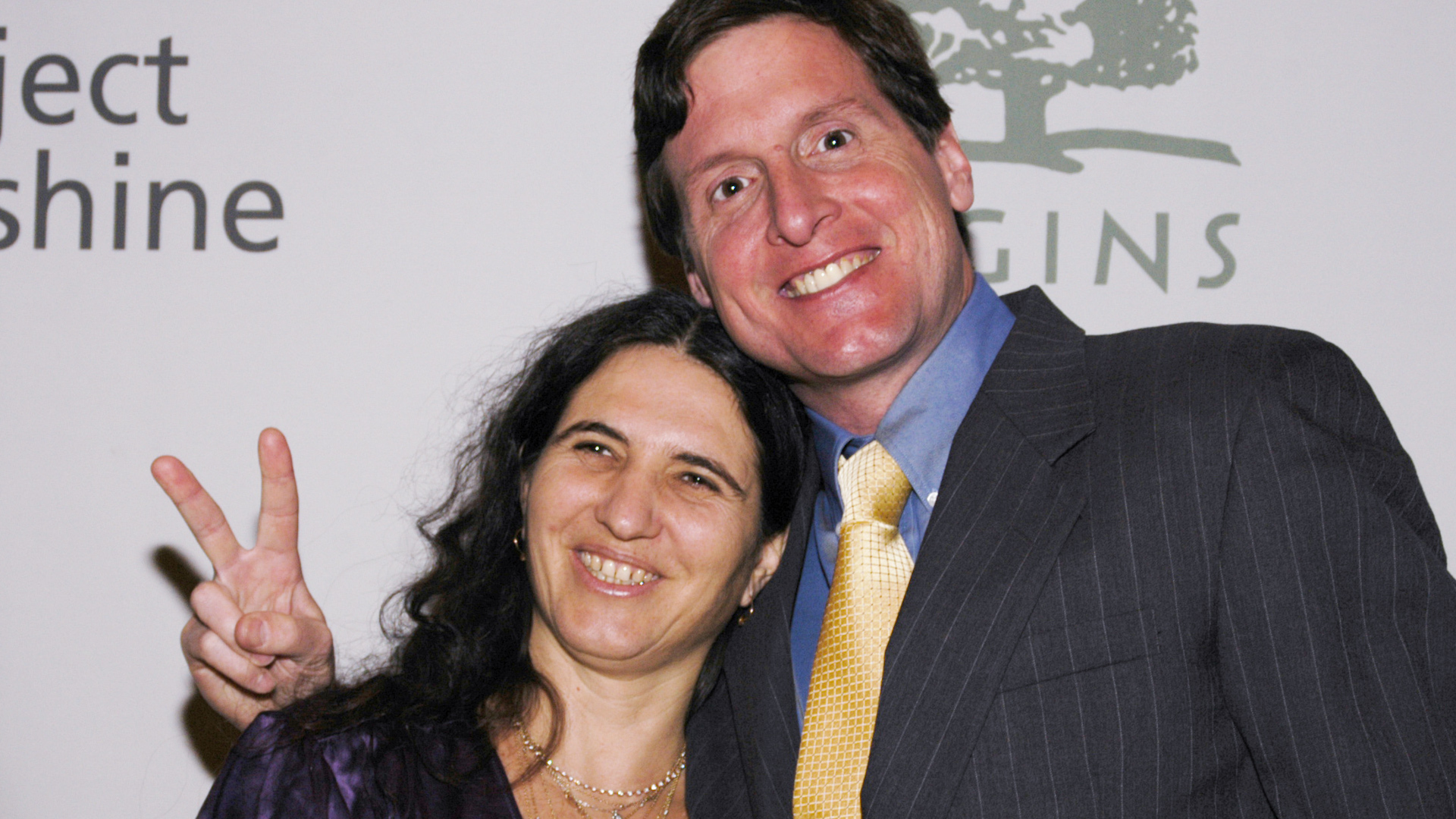 Helen Ficalora and her husband