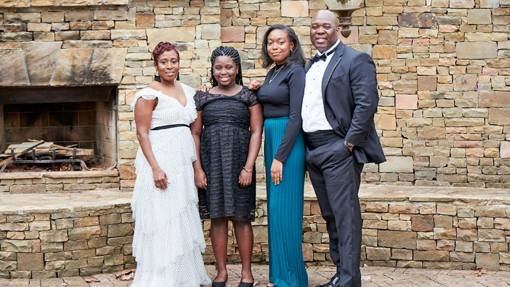 Dr. Madianite McNichol and her family