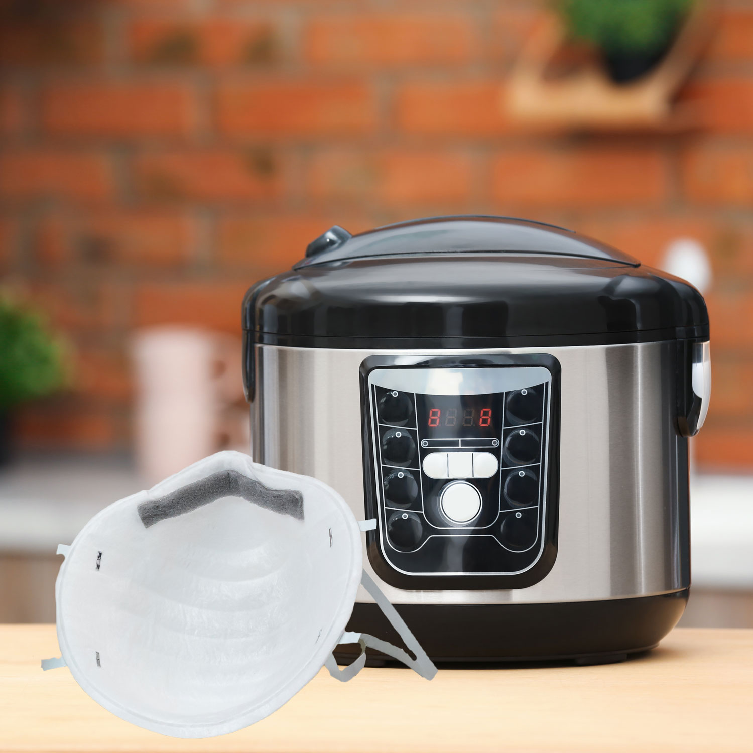 N95 Face Mask and Instant Pot