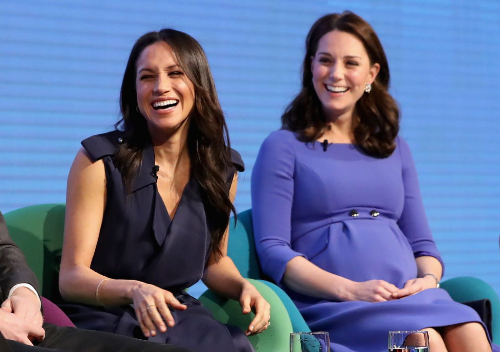 Meghan Markle and Kate Middleton at the First Annual Royal Foundation Forum