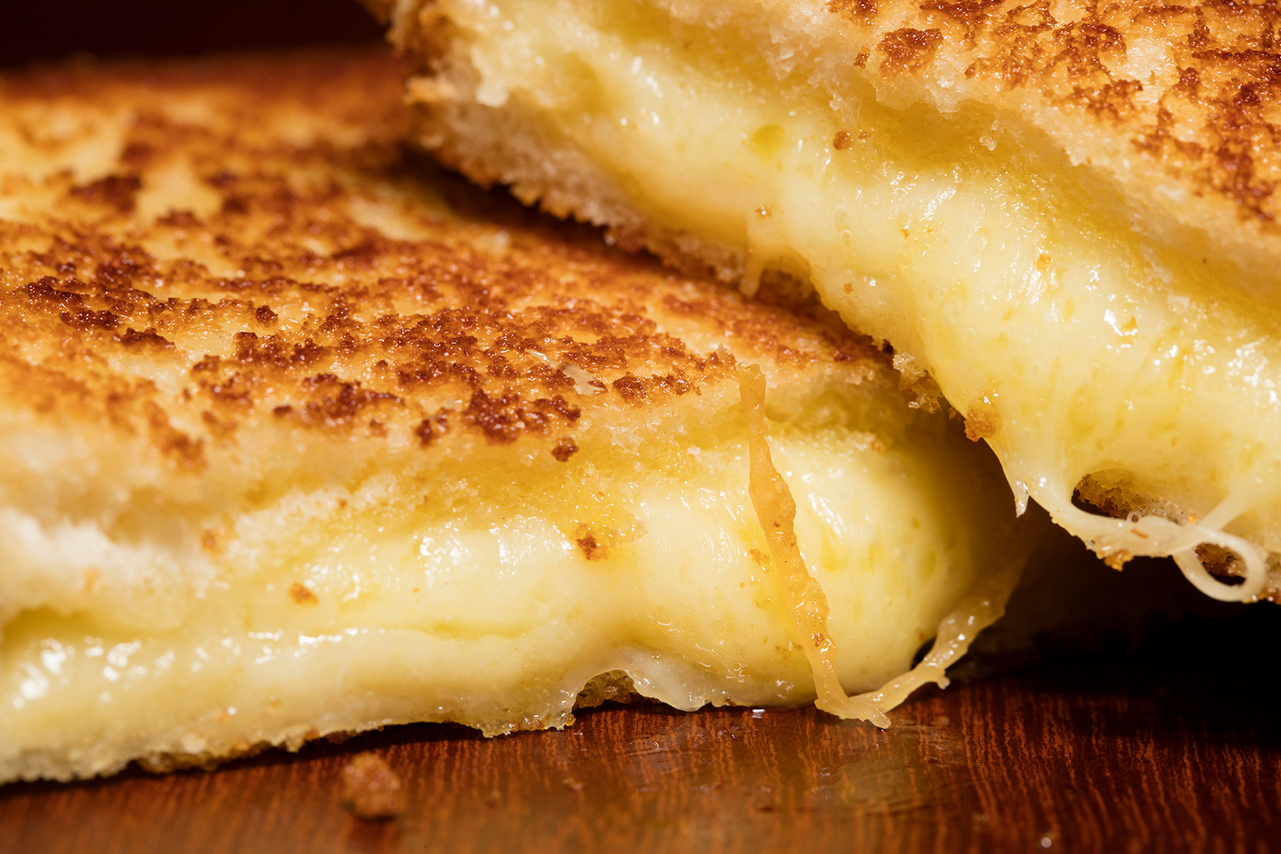 Up-Close Grilled Cheese Sandwich