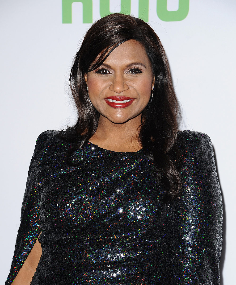 Mindy Kaling at Hulu Premiere