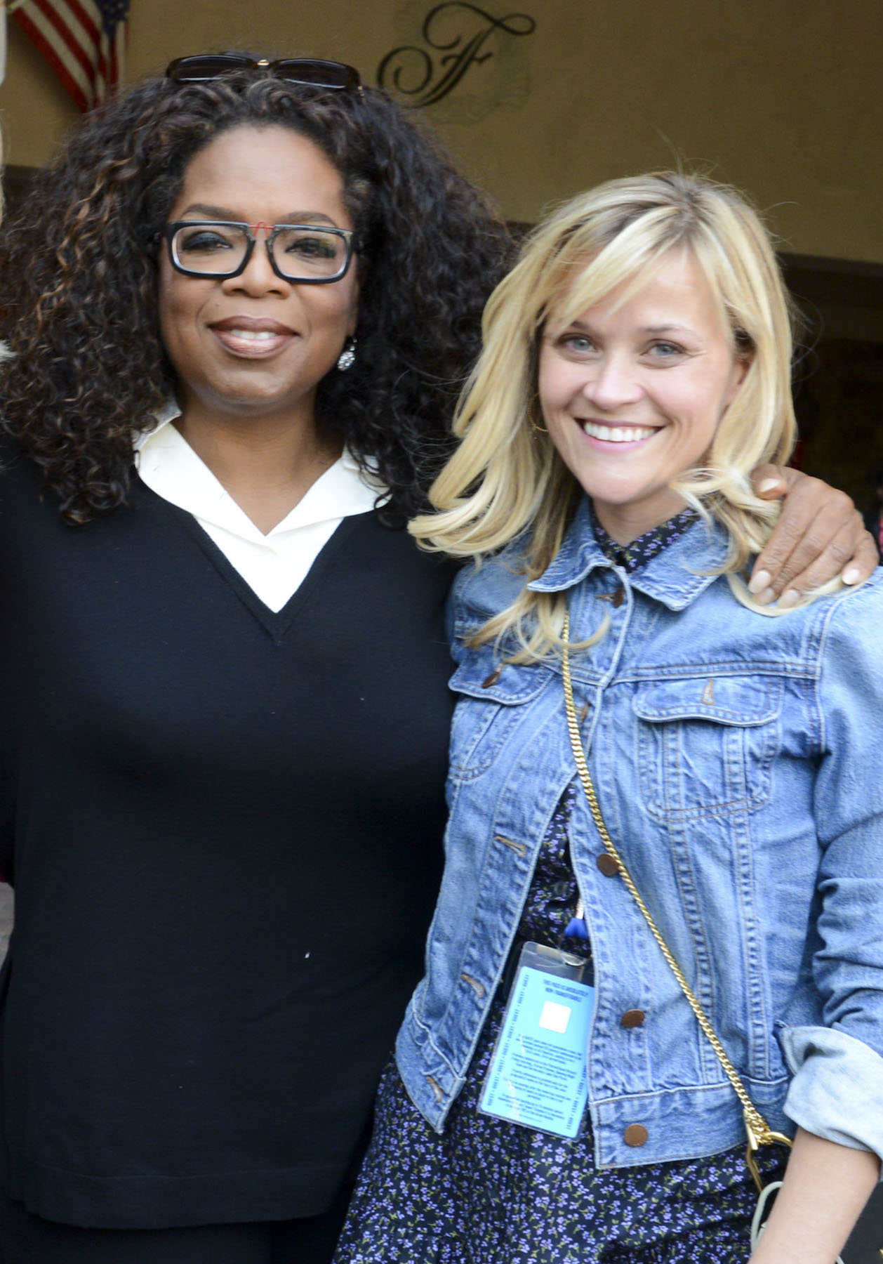 Reese Witherspoon and Oprah