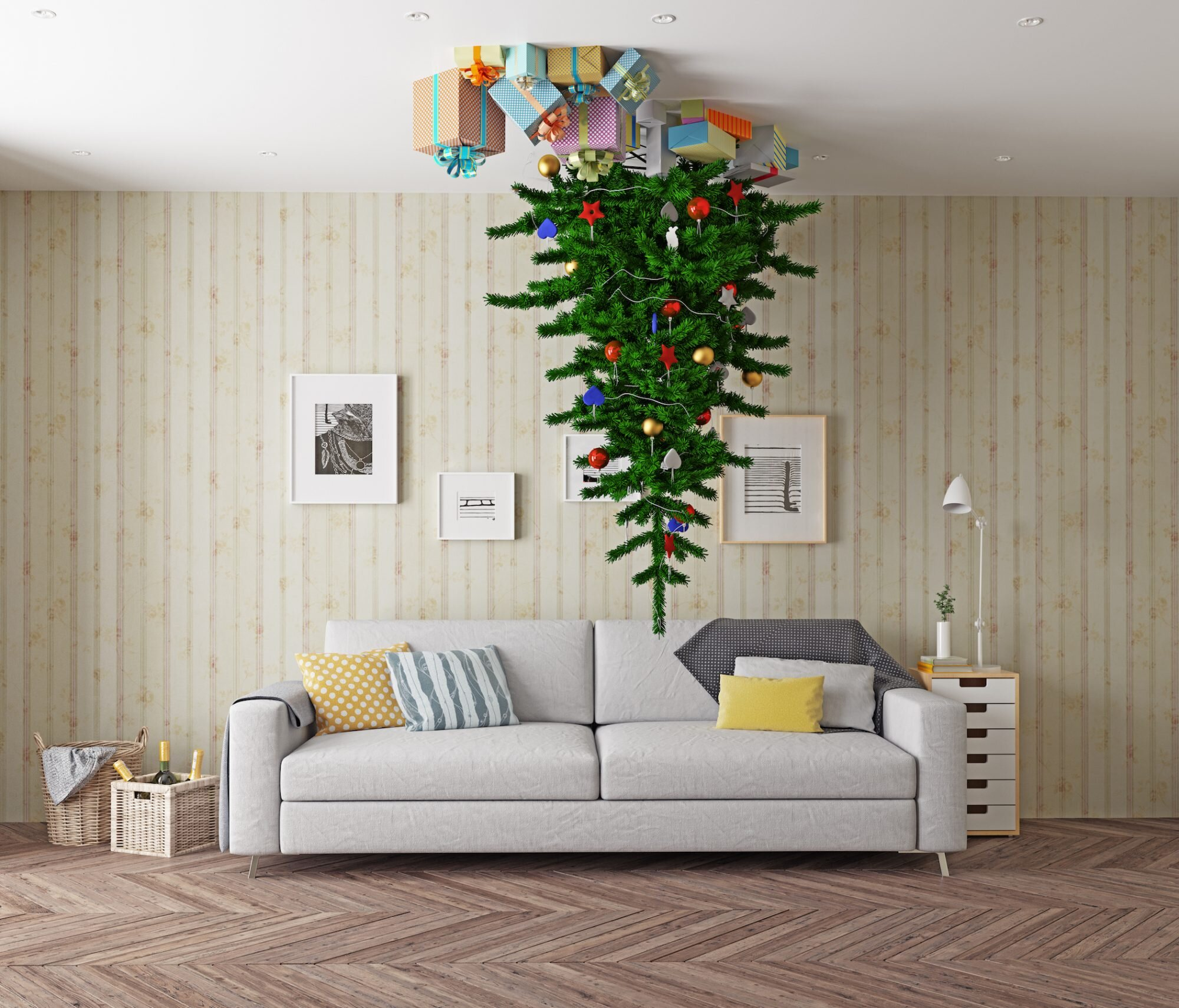 Upside Down Christmas Trees Are 2017 S