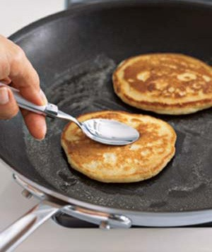 pancakes in a pan
