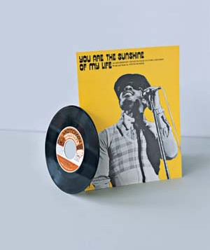 """Stevie Wonder's """"You Are the Sunshine of My Life"""" record"""