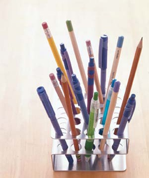 test tube holder for pens and pencils