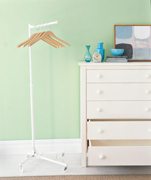 Clothing rack and dresser