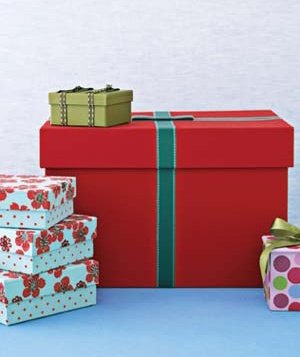 Give extra with packaging that doubles as gifts, like pretty boxes that can be repurposed as desk organizers.