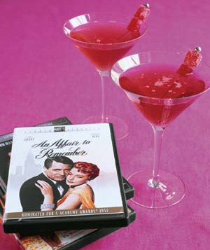 DVDs and cocktails