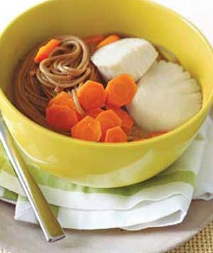 Scallop and Soba Soup