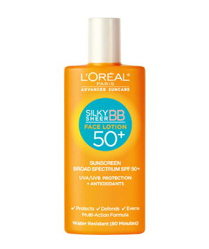 L'Oréal Paris Advanced Suncare Silky Sheer BB Face Lotion 50+