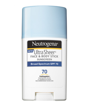 Neutrogena Ultra Sheer Stick Sunscreen Broad Spectrum SPF 70