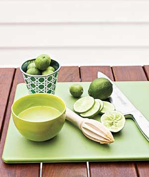 Lime and bowl