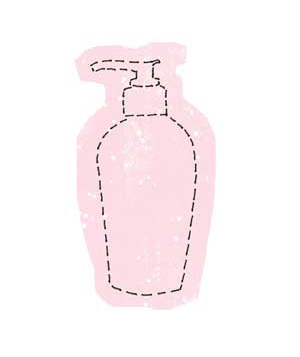Body Lotion Sketch