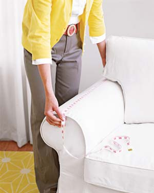 Slipcover measure