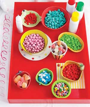 Cookie decorating supplies