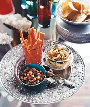 New Year's Party snacks