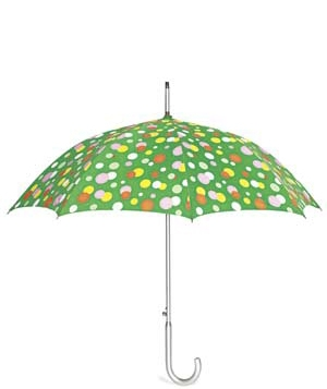 Weatherproof Garment Company polka dot umbrella