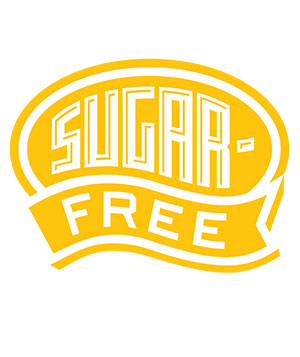 Sugar-free label