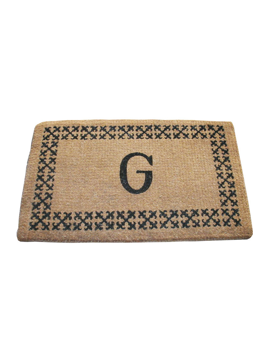Geo Crafts Imperial Scroll Border Mat