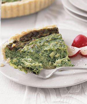 Simple Spinach Quiche Recipe Real Simple