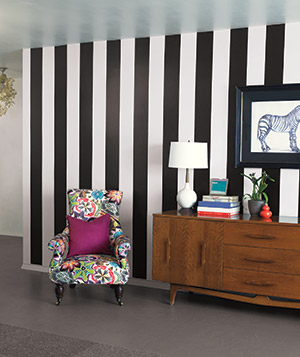 Black Jack and Ghost Stripes wallpaper by Brewster