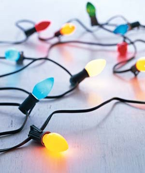Colorful string of lights