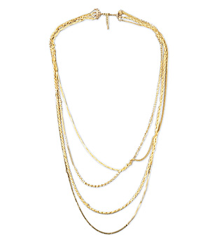 Critique Long Chain Necklace by Dirty Librarian Chains