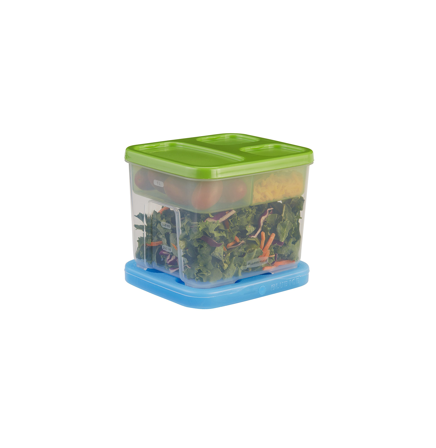 Packing Salads Rubbermaid Lunch Blox Container