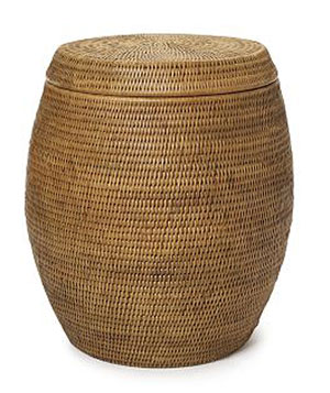 Williams-Sonoma Home rattan Decorative Hapao garden seat