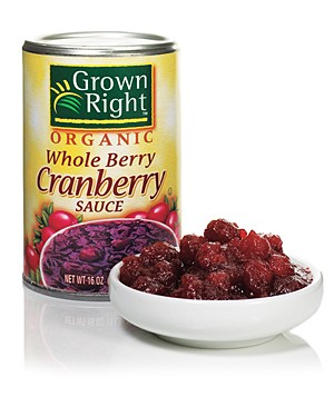 Grown Right Organic Whole Berry Cranberry Sauce