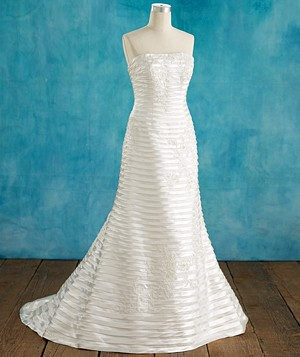 Oleg Cassini Collection gown