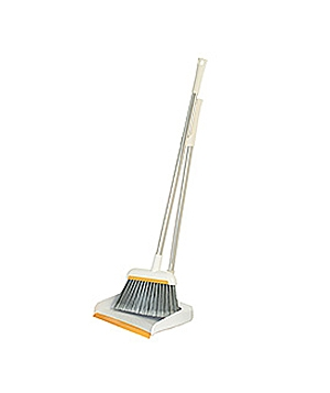 Upright Dustpan and Broom