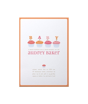 Sweet baby shower card
