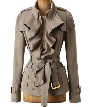 Femme Trench Jacket by Elevenses
