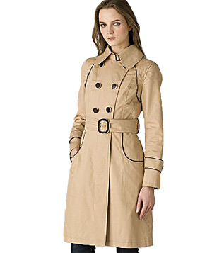 Soia & Kyo classic double-breasted trench coat